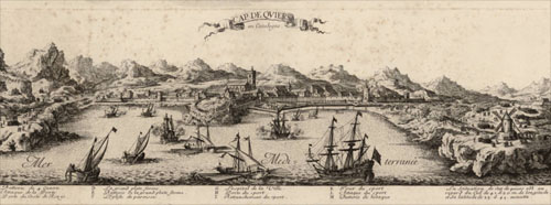 Cap de Quiers en Catalogne, 1694
