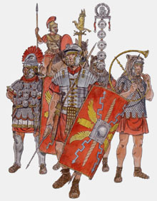 Legionaris imperials romans