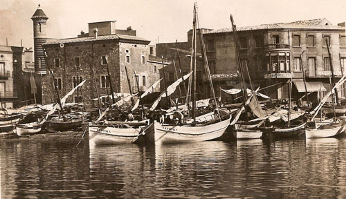 Port de L'Escala. 1920